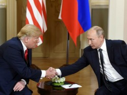 Russia President Vladimir Putin Invites Usa President Donald Trump In Moscow For Bilateral Meeting