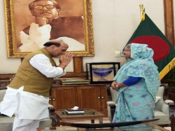 Zero Tolerance Terrorism Bangladesh Pm Assures Indian Home Minister Dhaka