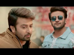 Naqab Poster Out Here S Shakib Khan S New Look