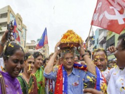 Sitaram Yechury S Presence A Programme Criticised Social Media Cpm Gear Up Its Campaign