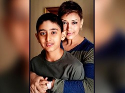How Sonali Bendre Broke The News Her Cancer Son Ranveer