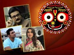 Tollywood Celebrities Liekdev Mimi Wishes On Rath Yatra