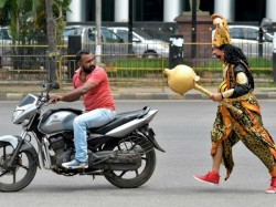 Follow The Traffic Rules Bengaluru Otherwise Yamraj Will Collect You