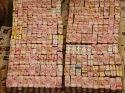 Crores Cash About Gold Bullion Confesticated From Road Consttruction Firm In Tamilnadu