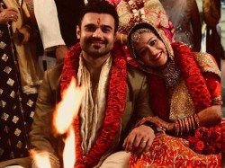 Mithun S Son Mimoh Gets Married Actress Madalsa