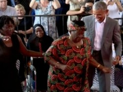 Barack Obama S Dance With His Grandmother Wins Many Hearts Video Goes Viral