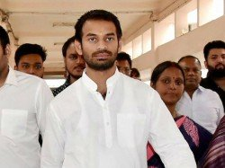 Tej Pratap Yadav S Cycle Protest Tumbled At Patna Road