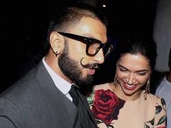 Ranveer Singh Deepika Padukone Begin Wedding Shopping With This Important Item