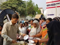 Hyderabad Youth Who Uses His Money Feed 1000 Needy People Every Day