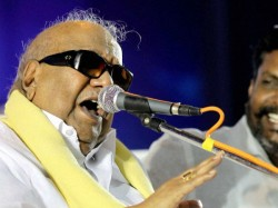 M Karunanidhi President Dmk The Last 50 Years
