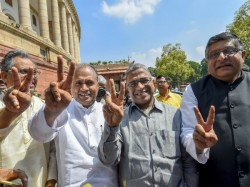Who Is Harivansh Narayan Singh The Newly Elected Rajya Sabha Deputy Chairman