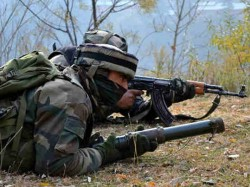 Four Militants Killed Trooper Injured Encounter Jammu Kashmir S Baramulla District