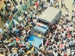 Dhaka Students Agitation Demand Road Safety After 2 Killed In A Road Acciden