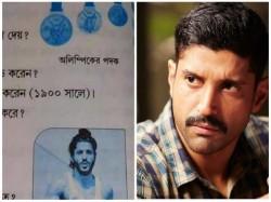 West Bengal School Book Uses Farhan Akhtar S Pic Milkha Singh