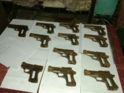 Stf Kolkata Police Unearthed Illegal Arms Factory Agarpara North 24 Parganas