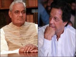 Pakistan S Pm Designate Imran Khan Paid Tributes Former Prime Minister Atal Bihari Vajpayee