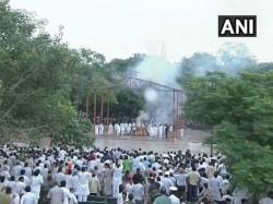 Get Live Updates On Atal Bihari Vajpayee S Last Rites