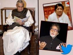 Amitabh Bachchan Priyanka Chopra Lead Film Industry S Tributes For Former Pm