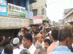 Tmc S Victory Rally At Chatta Thakurpukur Maheshtala Block On Panchayat Board Formation