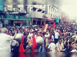 Jail Bharo Movement Left Organizations All Over The West Bengal