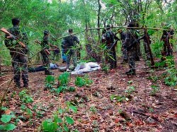 Maoists Killed Encounter Chhattisgarh Forest