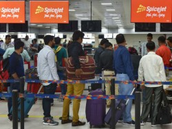 Moments Panic Power Bank Explosion At Delhi Airport