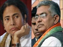 Dilip Ghosh Criticises Mamata Banerjee Her Poem Targeting Bjp