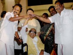 Dmk Splits Mk Alagiri Challenges Mk Stalin Days After Karunanidhi S Death