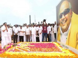Dmk Workers Died Shocked Karunanidhi S Death Claims Dmk
