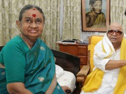 Dayalu Ammal Wife Late Dmk Patriarch M Karunanidhi Has Been Admitted Hospital Chennai