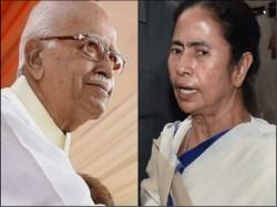 Mamata Banerjee Meets With Bjp Leaders Lalkrishna Advani At Parliament