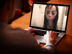 Live Chat Momo Challenge Has Uploaded Facebook Creates Hue An Cry