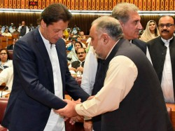 Formed Pak National Assembly Elects Imran Khan S Ally As Speaker