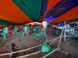 Serious Security Lapses On Part West Bengal Govt Tent Collapse At Pm Modi Rally At Midnapore