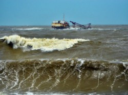 Again Trawler Capsize Bay Bengal The Tuesday Evening Seven Fishermen Absconding