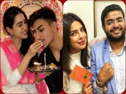 From Priyanka Chopra Sara Ali Khan Here Is Rakhi Celebration Of Bollywood Celebs