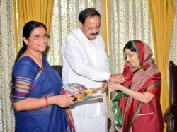 Here Are The Pics Rakhi Celebration Ministers President India