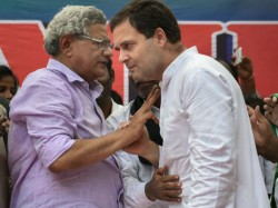 Not Only Rahul Gandhi Rss Plans Invite Sitaram Yechury As Well