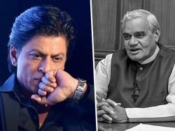 Shahrukh Khan Pays Tribute Atalbihari Vajpayee On Former Pm S Sad Demise