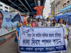 Bengal Roars Against Nrc Assam Does Protest Observed Black Day