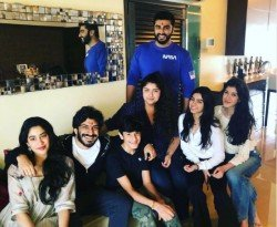 Arjun Makes Fun Anil Kapoor As They Celebrate Raksha Bandhan
