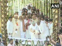 Former Pm Atal Bihari Vajpayee S Ashes Immersed Haridwar On Sunday Daughter Namita Bhattacharya