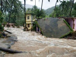 An Infant Is Rescued Indian Coast Guard From Kerala Flood