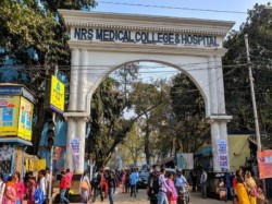 Treatment Patients Are Disrupted Due The Death A Patient Nrs Hospital Kolkata