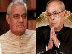 Ex President Pranab Mukherjee Expresses Condolence On The Demise Of Atal Bihari Vajpayee