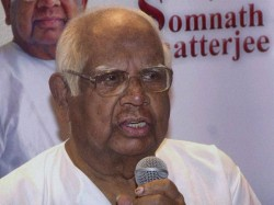 Former Loksabha Speaker Somnath Chattyopadhyay Is Critical Condition A Private Hospital Kolkata