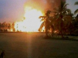 Two Died A Explosion At Fire Cracker Making Factory At Gangnapur Nadia