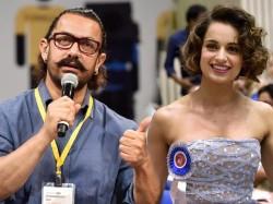 Kangana Ranaut Finds Support Aamir Khan
