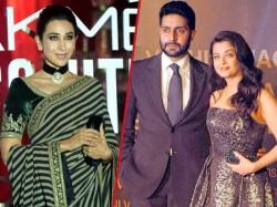 Abhishek Bachchan Snubs Karisma Kapoor Front Aishwarya
