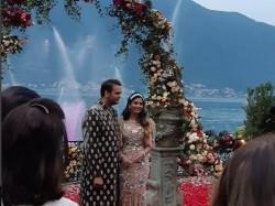 Isha Ambani S Engagement At Lake Como Here Are Videos Pic Bollywood Celebrities